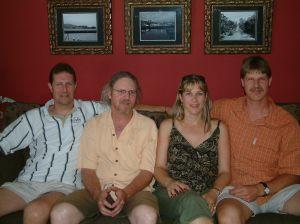 Eddie, Rick, Heidi & Jon 2006
