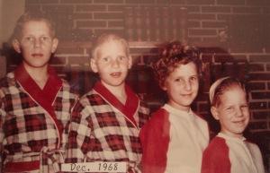 Eddie, Ricky, Heidi, Jonny