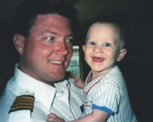 Gare-Bear & Daddy!