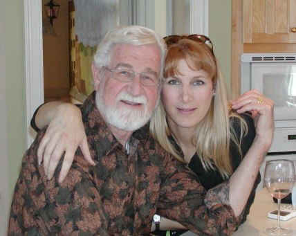 Dad & I in 2005-I like this one of us!