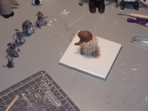 porcupine in progress