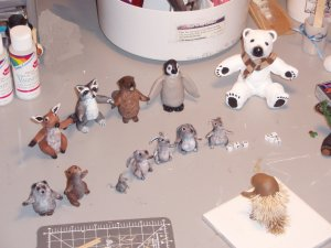 critters in progress